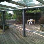 Wetterschutz Terrasse durchsichtig